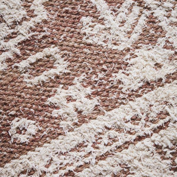 Wowe tæppe fra House Doctor i beige
