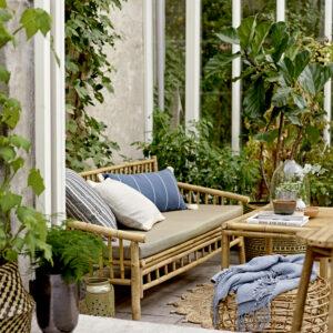 Tæppe fra Bloomingville i natur