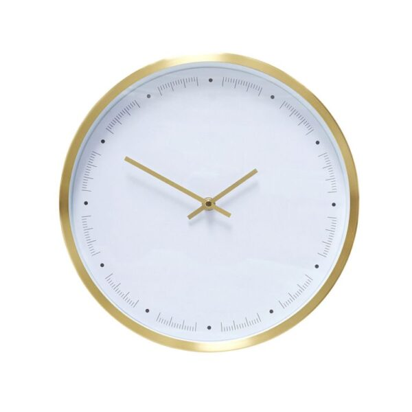 ur fra Hübsch i messing og hvid