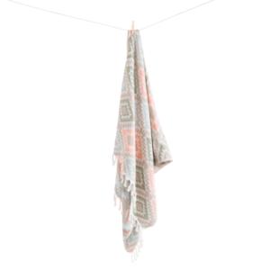 Ana hamamhåndklæde fra ALGAN i lyse nuancer hvid baggrund