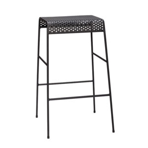 Barstol fra Hübsch i sort