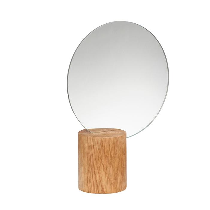 Hübsch Bordspejl Rundt – Natur