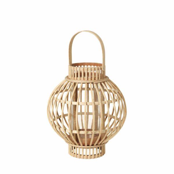 Broste Copenhagen Globus lanterne i bambus
