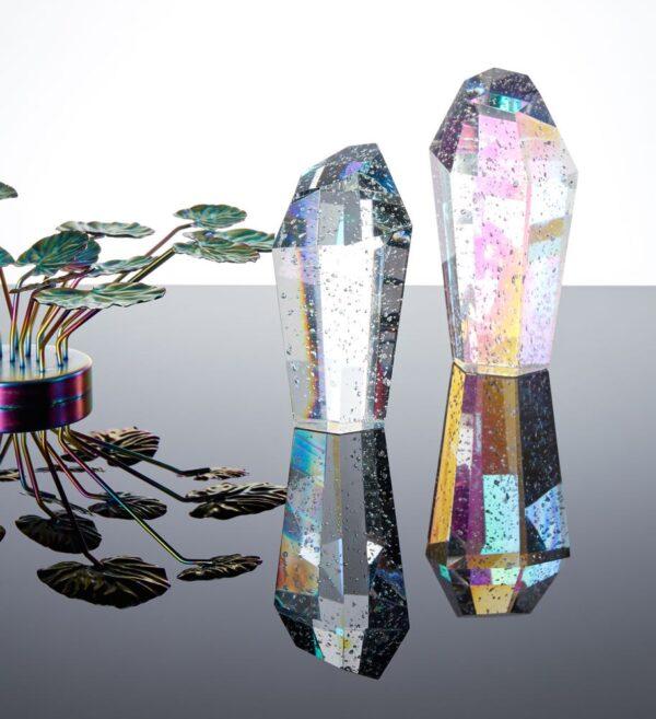 Crystal rock fra Eden Outcast i klar i størrelsen mellem