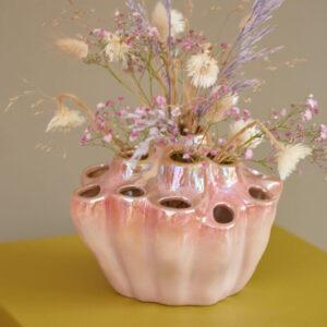 Fat lava vase fra Eden Outcast i rose