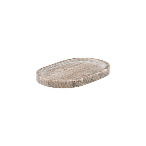 Marble bakke fra Meraki i beige med størrelsen 19,5x12,5