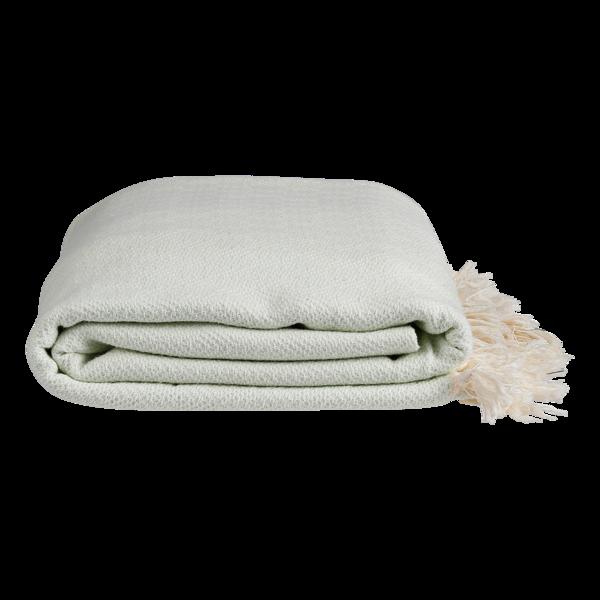 Nane plaid / sengetæppe fra ALGAN i mint