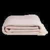 Nane plaid / sengetæppe fra ALGAN i pudder