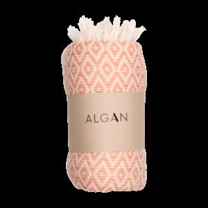 Sumak hamamhåndklæde fra ALGAN i melon