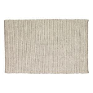 Tæppe fra Hübsch i grå og hvid