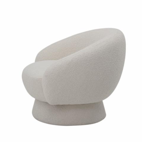 Ted loungestol fra Bloomingville i hvid