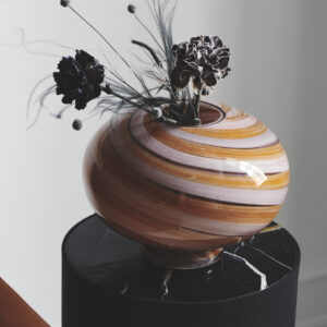 Twirl vase fra Eden Outcast i rose