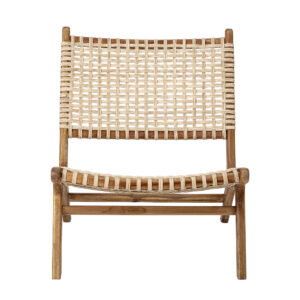 Keila lounge stol fra Bloomingville i natur