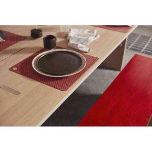 Inka dinner tallerken fra OYOY i brun