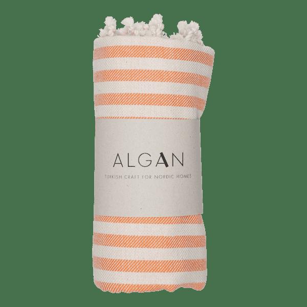 Kavun hamamhåndklæde fra ALGAN i orange
