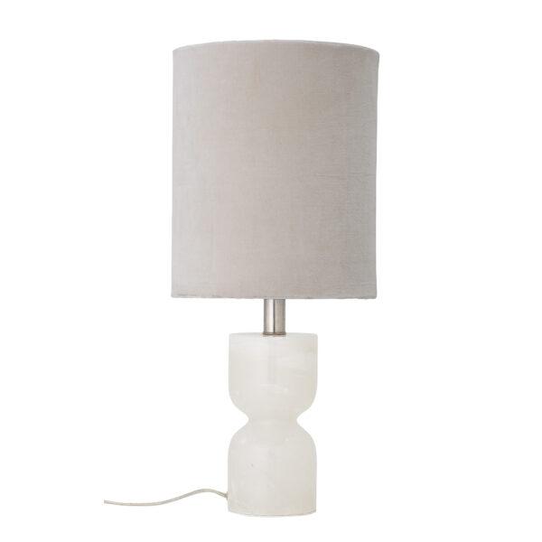Indee bordlampe fra Bloomingville i hvid