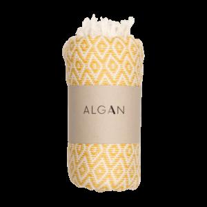 Sumak hamamhåndklæde fra Algan i sol