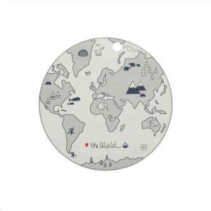 The World dækkeserviet fra OYOY i hvid