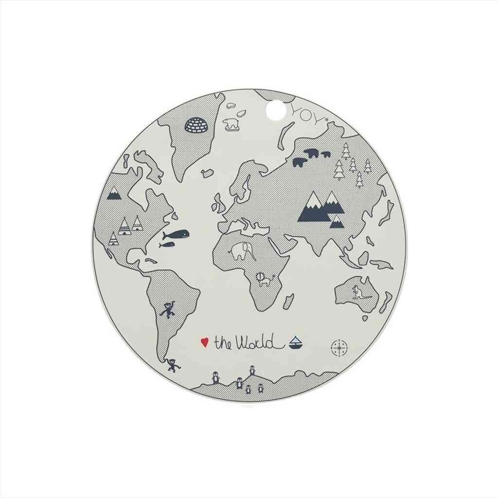 OYOY The World Dækkeserviet – Hvid