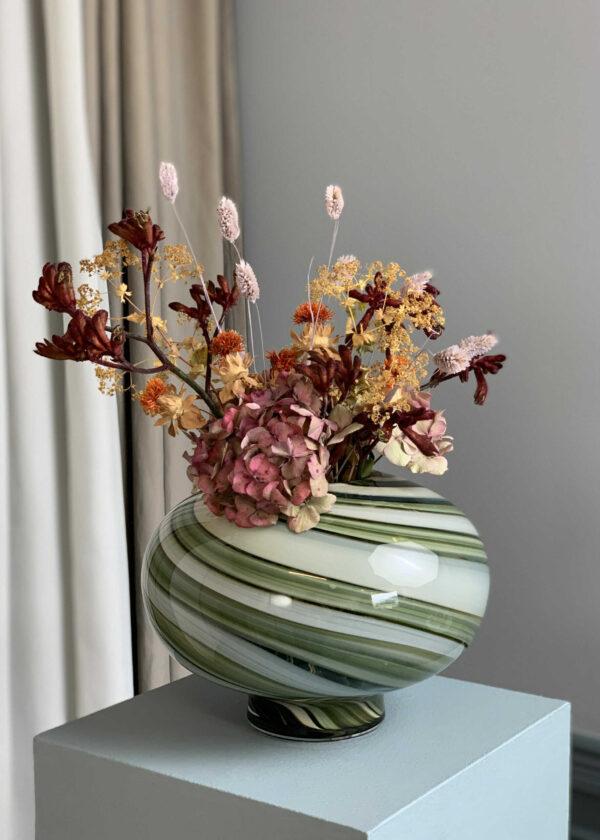 Twirl vase fra Eden Outcast i grøn