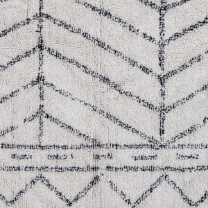 Ovia tæppe fra Bloomingville i natur