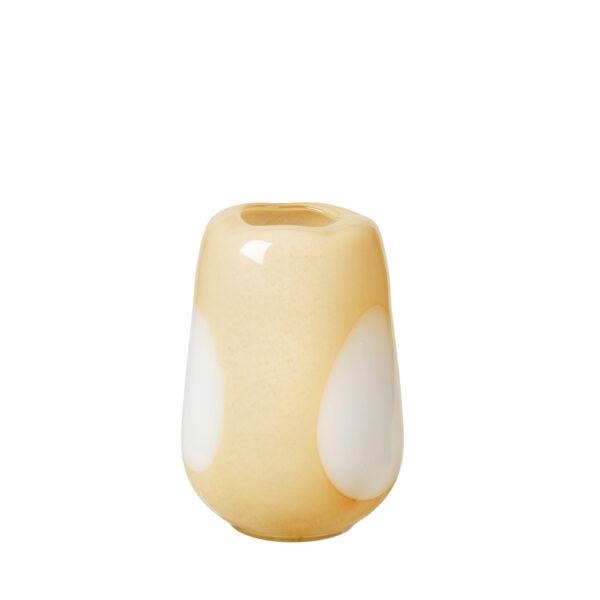 Ada dot vase fra Broste Copenhagen i gul