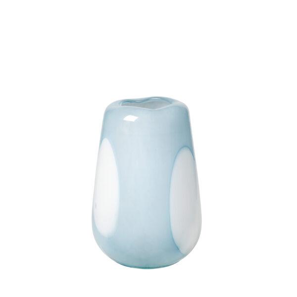 Ada dot vase fra Broste Copenhagen i blå