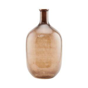 Tinka vase fra House Doctor i brun glas