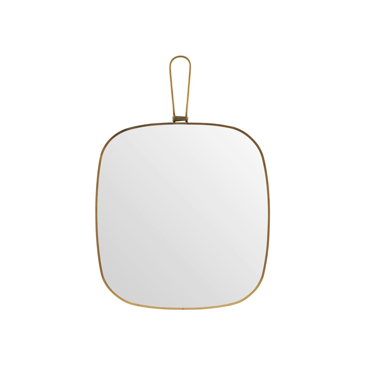 Køb Meraki Spejl Med Ramme 26×28 – Antik Messing