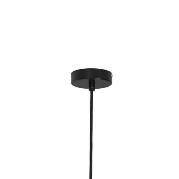 Lolly loftlampe fra Broste Copenhagen i sort og hvid i størrelsen stor