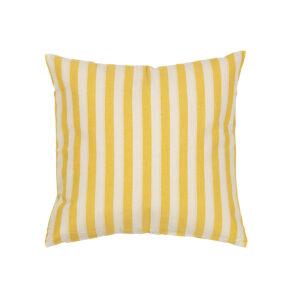 Broste Copenhagen cleo pudebetræk med gule striber