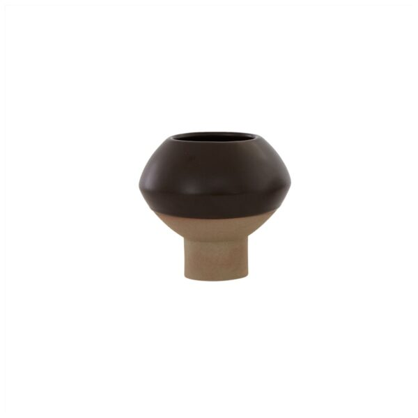 Hagi Mini vase fra OYOY i brun