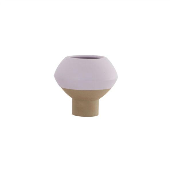Hagi Mini vase fra OYOY i lyselilla