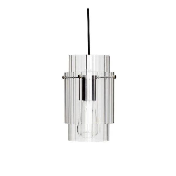 Lampe fra Hübsch i klar og grå
