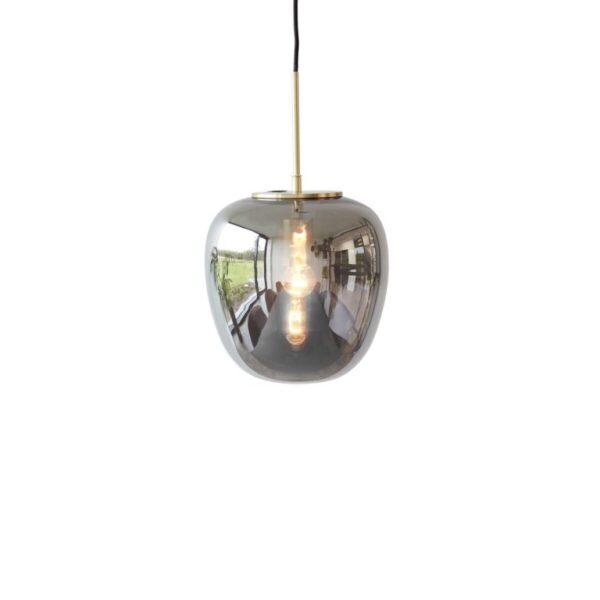 Lampe fra Hübsch i messing og spejl