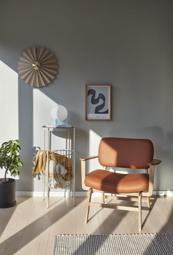 Loungestol fra Hübsch i natur og brun