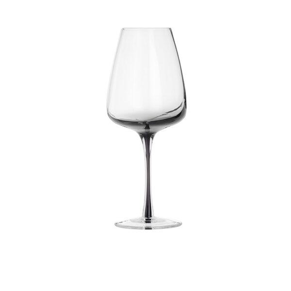 Smoke hvidvinsglas fra Broste Copenhagen i klar / grå