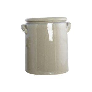 Pottery urtepotte fra House Doctor i sandfarvet