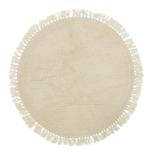 Lenea tæppe fra Bloomingville i natur