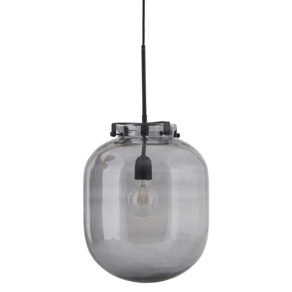 Ball lampe fra House Doctor i grå