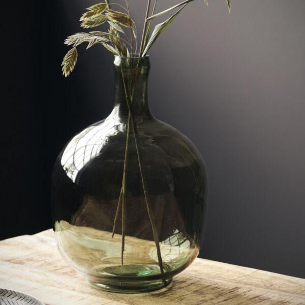 Tinka vase fra House Doctor i grøn glas