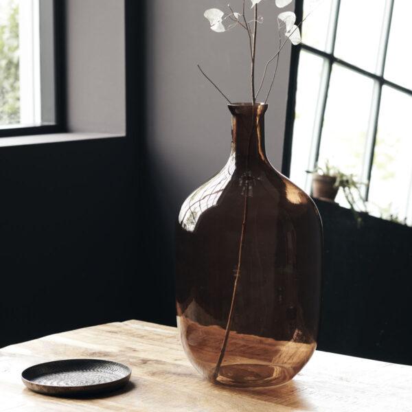 Tinka vase fra House Doctor i brun