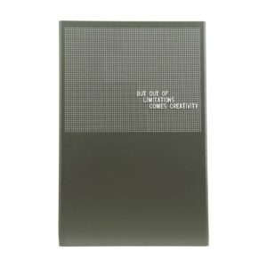 Grid opslagstavle fra Monograph i grøn