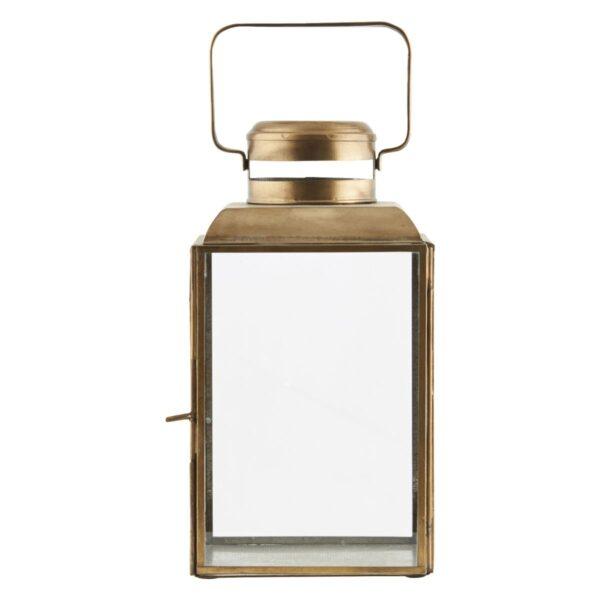 Vintage lanterne fra House Doctor i messing størrelse small