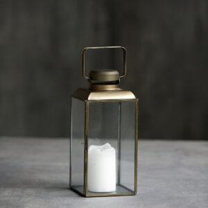 Vintage lanterne fra House Doctor i messing størrelse medium