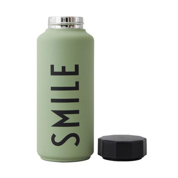 Trend termoflaske fra Design Letters i grøn