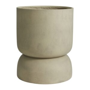 AJONU urtepotte XL fra Nordal i grå