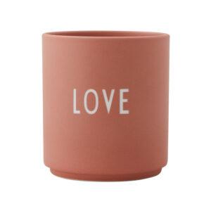 Design Letters kop LOVE rosa