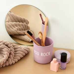 Design Letters favorit kop YOU ROCK i lavendel