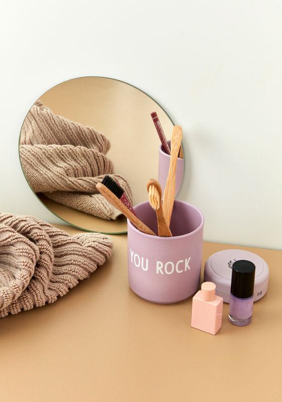 Design Letters favorit kop YOU ROCK i lavendel